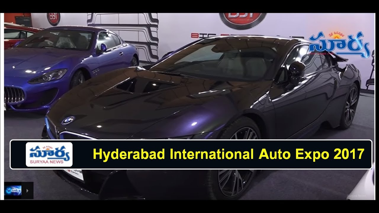 Amazing Cars Hyderabad International Auto Expo Show At Hitex - Car expo auto center