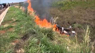 s10 pega fogo depois de acidente na ms 276