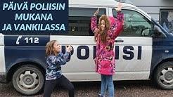 PÄIVÄ POLIISINA vankilassa, poliisikoira + POLIISIN JOULU