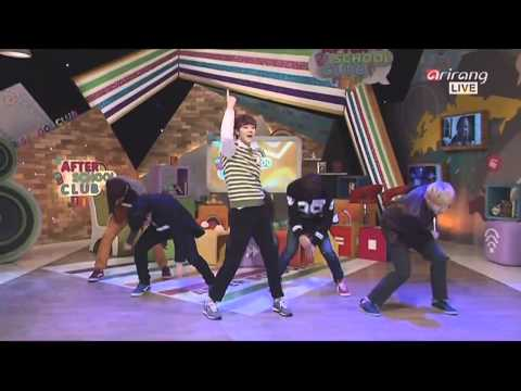 131113 U-KISS - She's Mine @ After School Club (ft Eric Nam & HanByul from LED Apple)