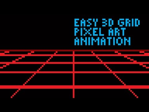 Pixel Art Grid Easy