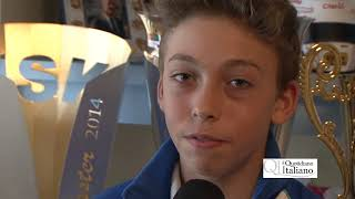 Bari, Nicola Abrusci fa il bis: campione del mondo di gokart a 13 anni