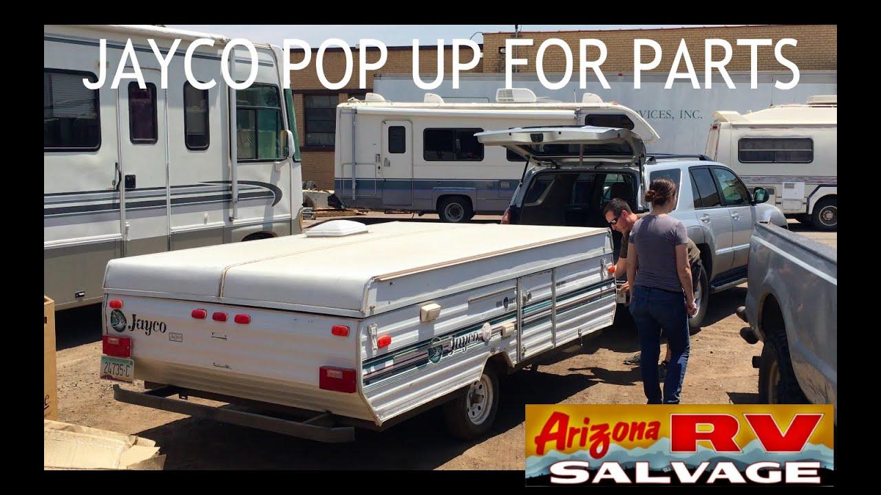 Jayco Pop Up Replacement Parts At Arizona RV Salvage