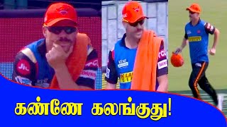 David Warner Last Match SRH Captain Now Carrying Drinks | Oneindia Tamil