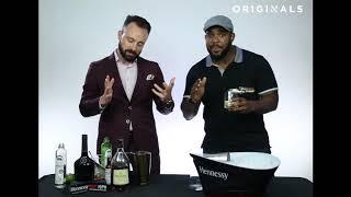 How To Make a a Hennessy Black Gimlet