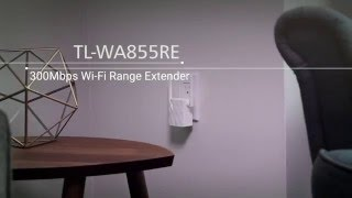 TP-LINK TL-WA855RE - How to set up the Range Extender through WPS