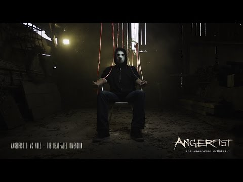 Angerfist & MC Nolz - The Deadfaced Dimension (Official Music Video)