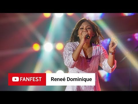 Reneé Dominique @ YouTube FanFest Manila 2018
