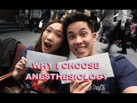 Match Day Results + Why Anesthesiology?