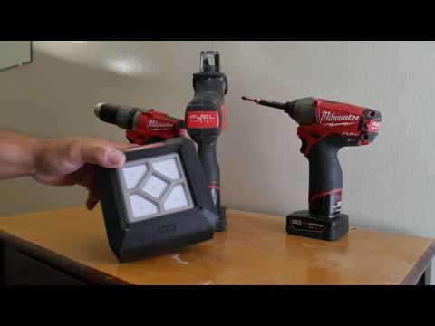 Milwaukee M12 Fuel system after 1 year & Rover compact flood light