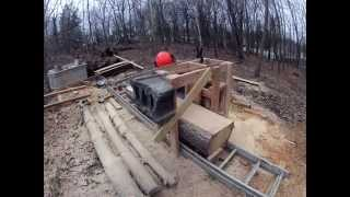 Wooden Saw Mill Timelapse