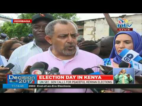 Mombasa governor candidate Suleiman Shahbal urges voters to turn up - #ElectionsKE