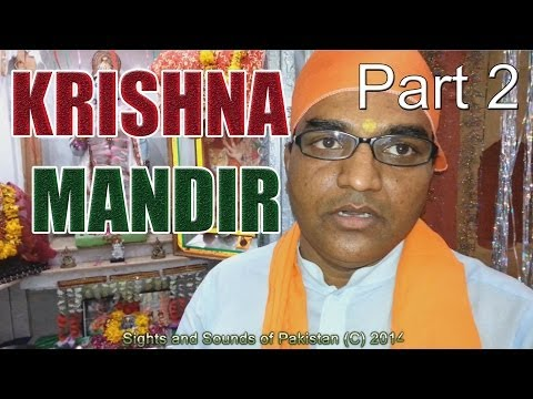 Pakistani Hindus: Krishna Mandir Rawalpindi Pakistan part 2