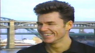 Big Country - Stuart Adamson and Dunfermline Athletic, 1991.