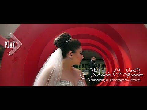 Elegant Vancouver Persian Wedding Highlight - Yasamin & Shamim