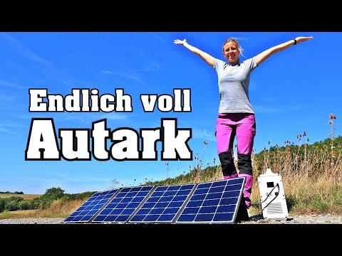 Power Kraftwerk und Solar- Vanlife Poweroak Bluetti