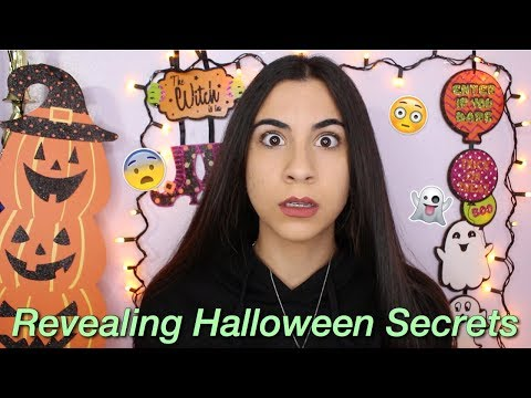 Revealing Your Embarrassing Halloween Secrets (yikes!) | Just Sharon