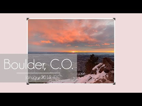 Boulder CO Jan '19 | Day in the Life with Whitney Port