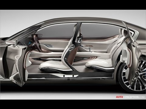 Car Interior Design BMW Vision Future Luxury Concept