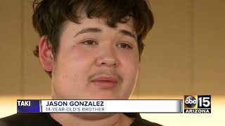 Family members are speaking out after a 14-year-old was shot and ki...