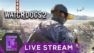 Watch Dogs 2 - Deimos Hackerem #01 | ⭕ Záznam streamu ⭕ CZ/SK