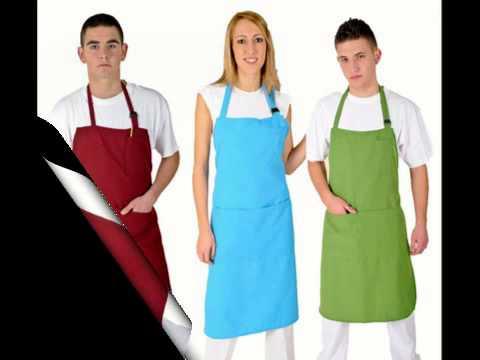 Delantales de trabajo y cocina youtube - Trabajo y casa ...