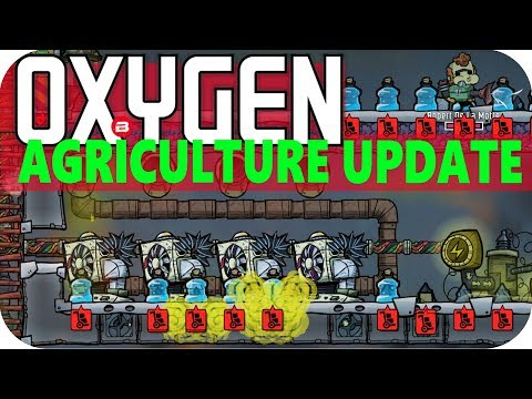 Oxygen Not Included COOLING HOT MACHINERY Lets Play Oxygen Not Included AGRICULTURE UPDATE #21