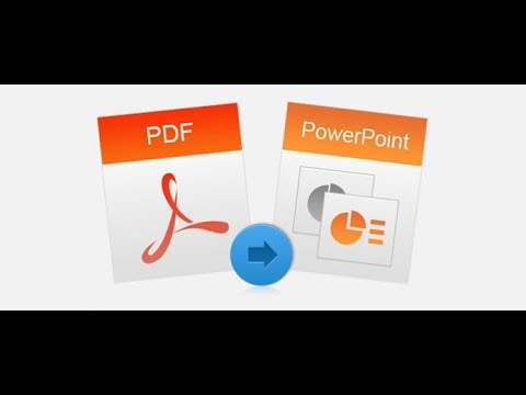 CONVERT PDF TO POWERPOINT 2019 NEW chuyển từ file pdf sang powerpoint