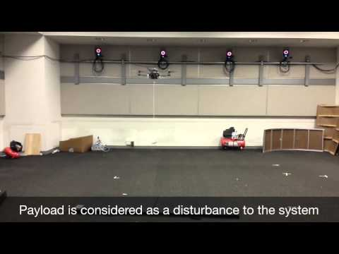 Quadrotor UAV Transporting a Payload with Flexible Cables