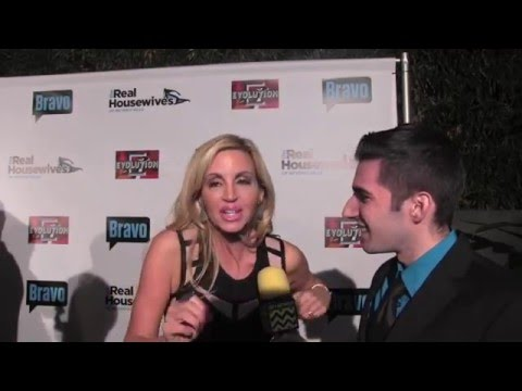 Camille Grammer Interview at The Real Housewives of Beverly Hills Premiere