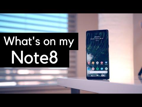 Customizing the Galaxy Note8 - making it mine