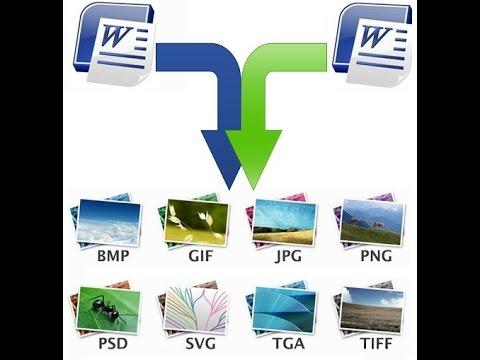 Как извлечь изображения (картинки) из файла Word