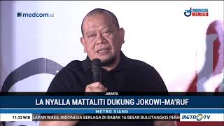 La Nyalla Kapok Dukung Prabowo