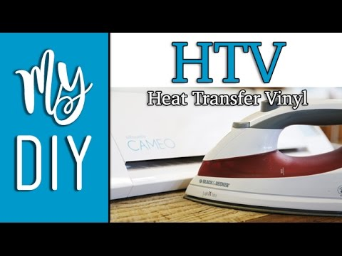 Easy HTV Tutorial - Apply Heat Transfer Vinyl with a Household Iron