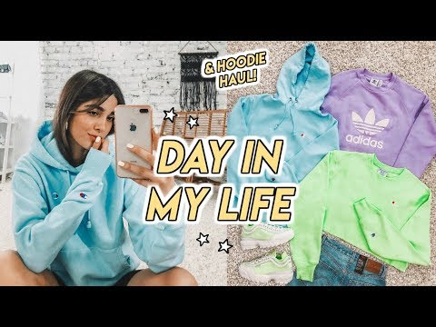 VLOG ☆ Hoodie/sweater Haul, Booty Workout + How To Make Tacos!