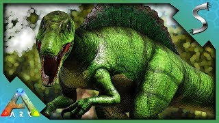 I CREATED ANOTHER HYBRID CREATURE! SPINORAPTOR TAMING! - Ark: Jurassic Park [E26]