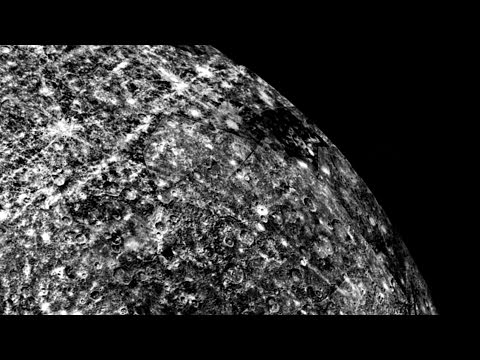 Mercury - PYRAMID, Crashed SPACESHIP, Structures, Anomalies