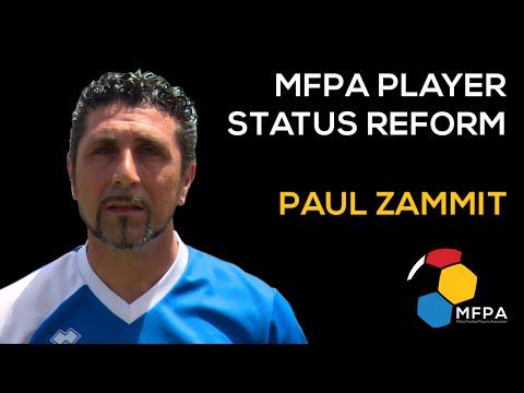 MFPA Player Status Reform - Paul Zammit