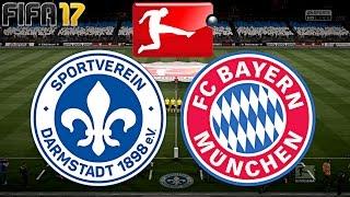FIFA 17 - FC BAYERN MÜNCHEN vs. SV DARMSTADT 98 | 15.SPIELTAG ◄FCB #31►
