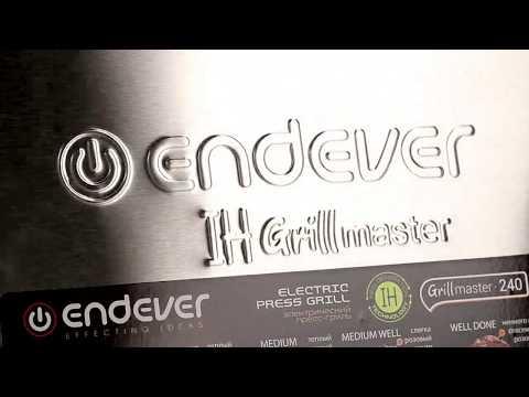 Электрический пресс-гриль ENDEVER GRILLMASTER-240