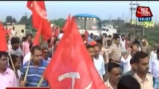 Bharat bandh: Violent Clashes In West Bengal
