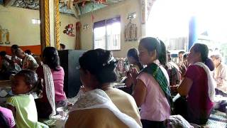 End of Buddhist Lent in Pakse, Laos 05