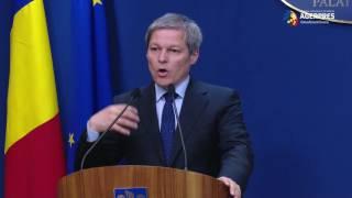 Dacian Cioloș: Prin proiectul de ordonanţă nu va scădea niciun salariu