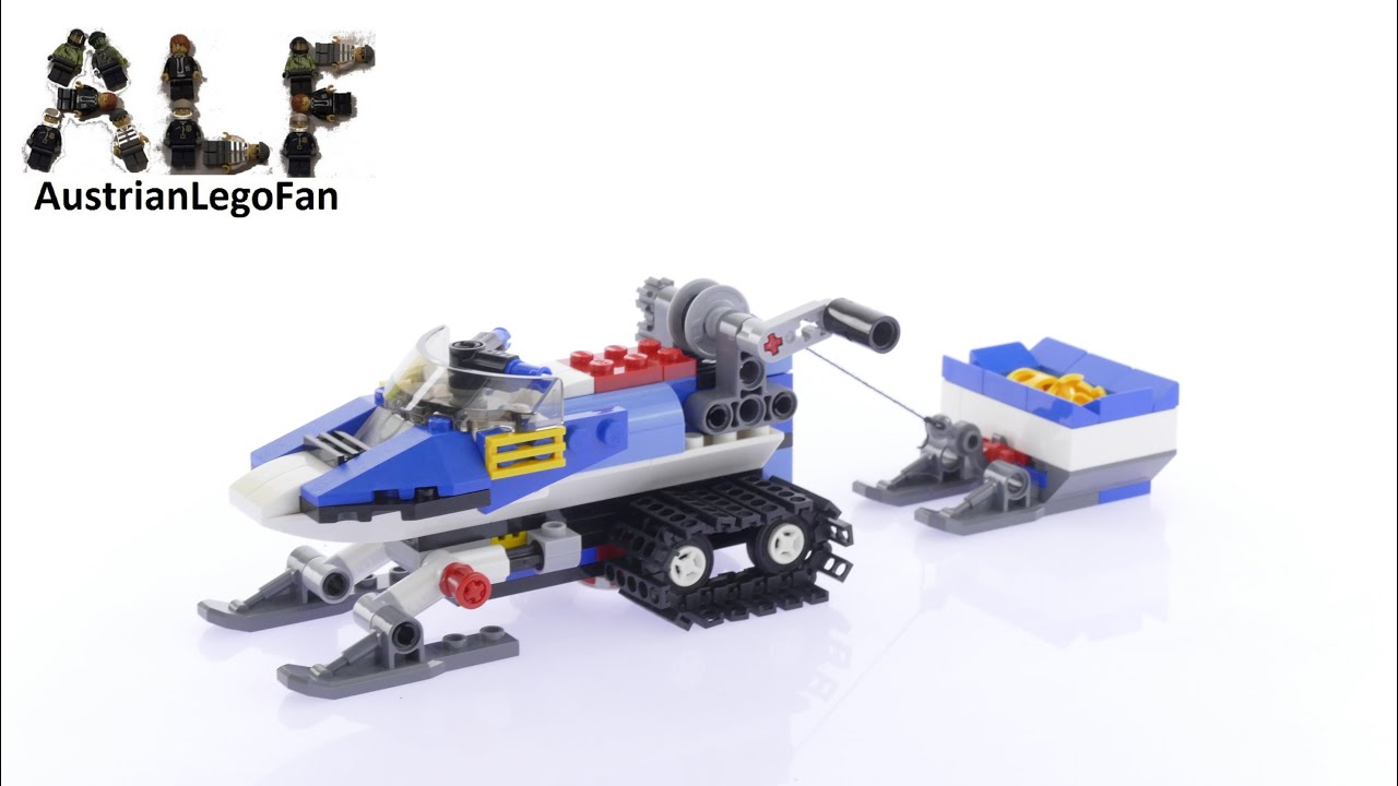 Lego Creator 31049 Snowmobile Twin Spin Helicopter Model 2of3 - Lego Speed  Build Review - YouTube