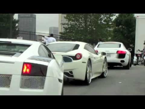 Akon Cars to V103 Car Show