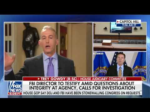 Rep. Gowdy on the Integrity of the FBI