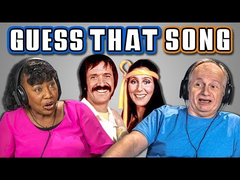 ELDERS GUESS THAT SONG CHALLENGE #4 (REACT)