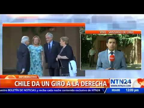 Sebastián Piñera ofreció su primera rueda de prensa como presidente electo de Chile