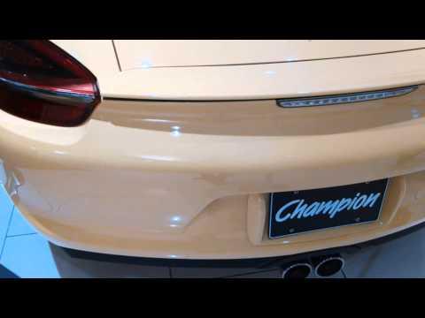 """""""Car-nography"""": 2014 Porsche Cayman - Aventura Mall Florida"""