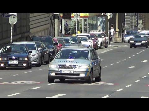 výjezd Policie ČR Praha | Prague state police cruiser responding [6.2014]